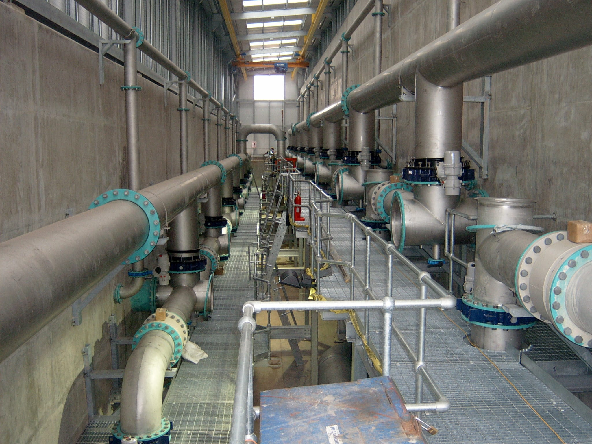 Castor Bay Water Treatment Works (WTW) Image