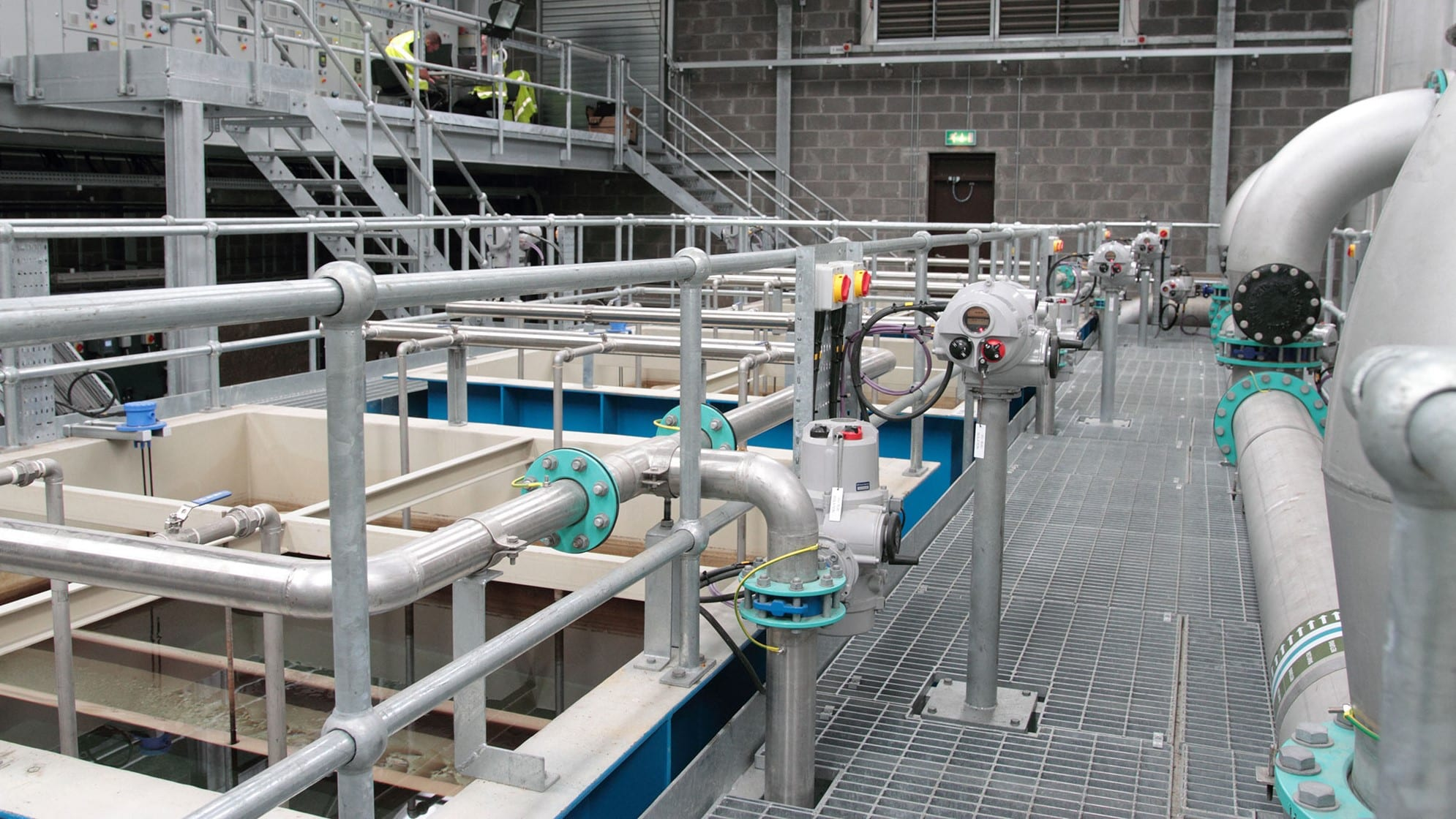 Claylake Water Treatment Works (WTW) Image