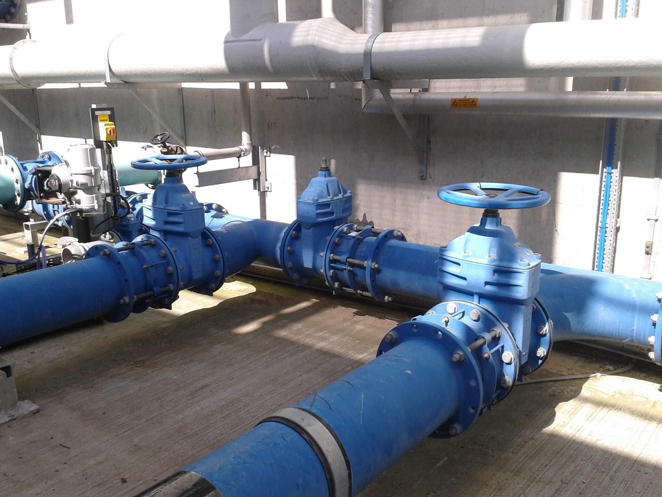 Crossness IPS Waste Water Treatment Works (WwTW) Image