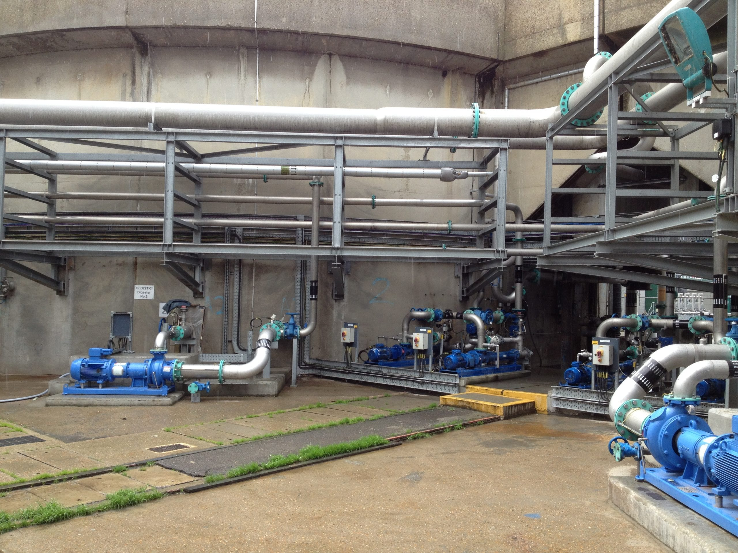 Crossness and Beckton Thermal Hydrolysis Plants Image