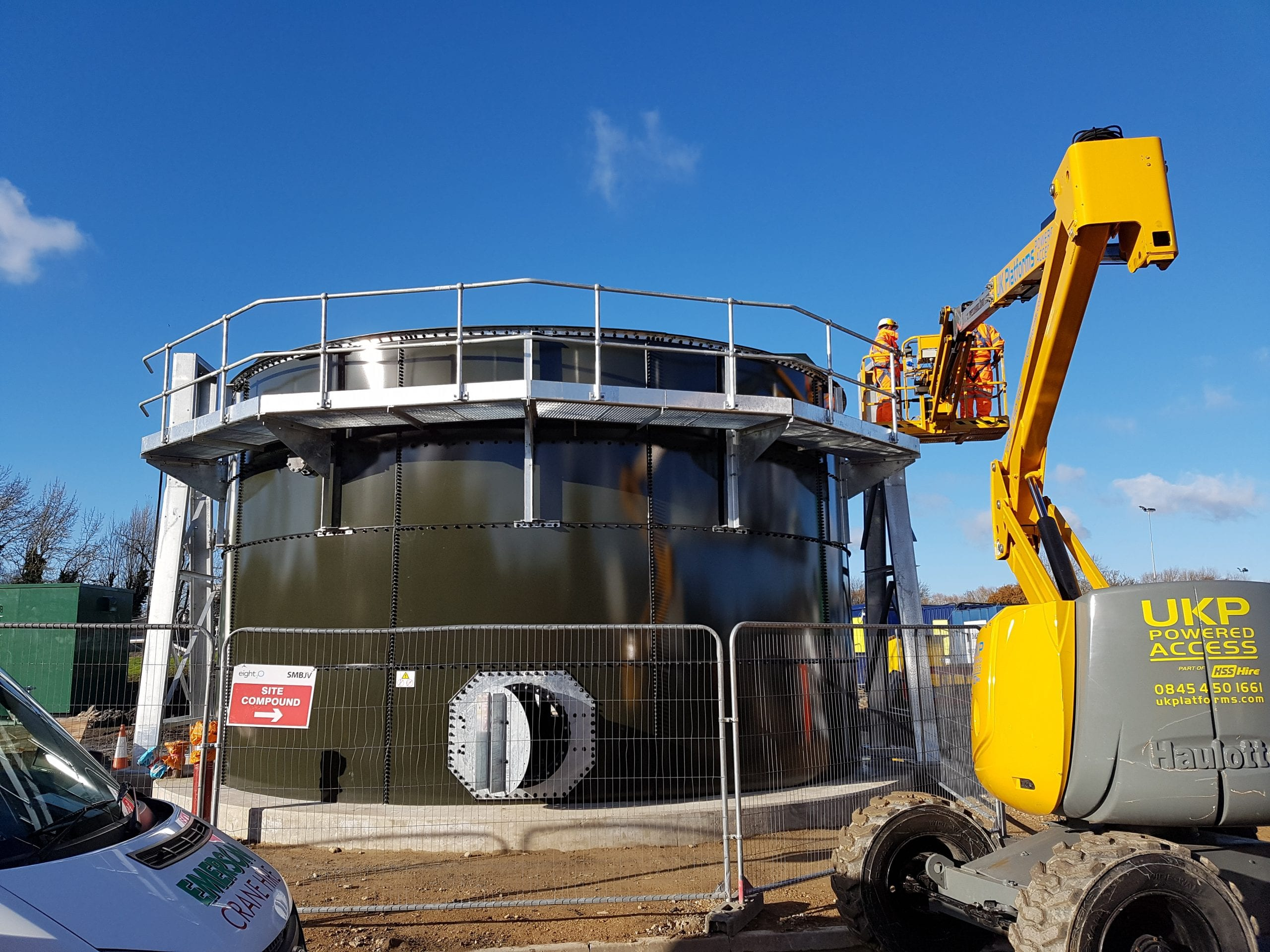 Didcot Waste Water Treatment Works (WwTW) Image