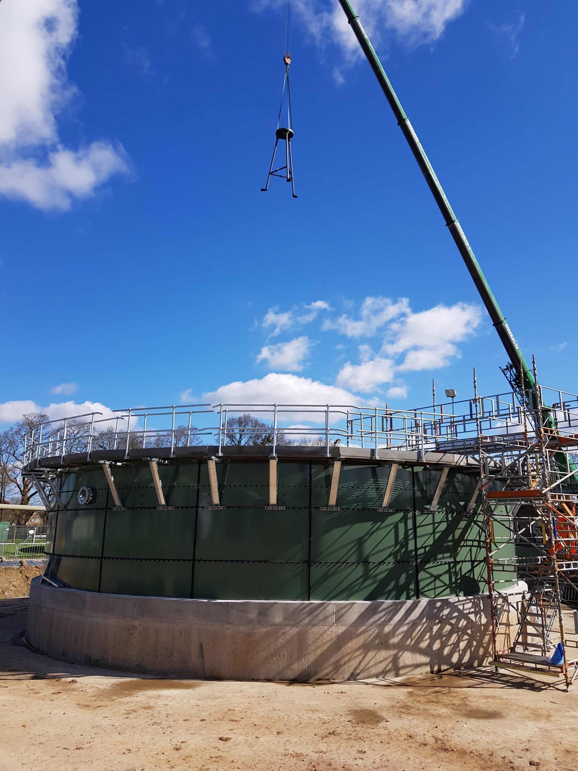 Horley Waste Water Treatment Works (WwTW) Image