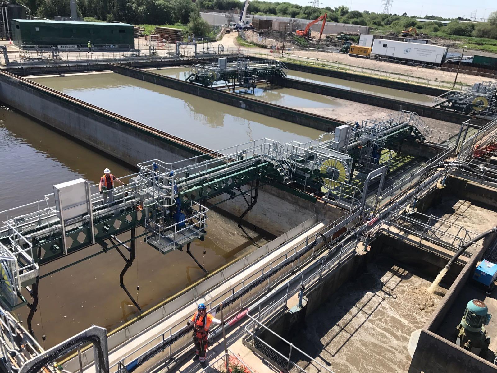 Oldham Waste Water Treatment Works (WwTW) Image