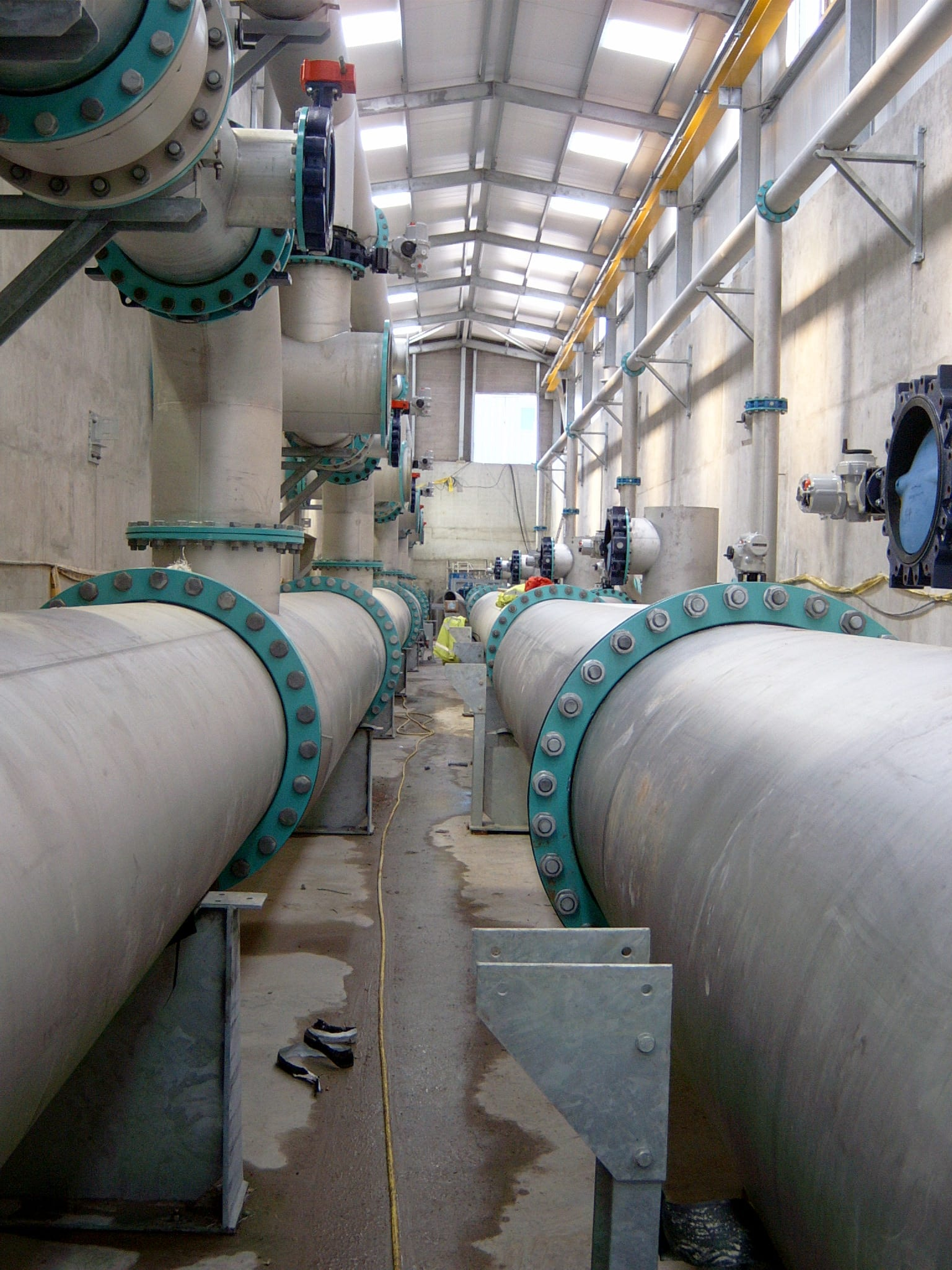 Dunore Point Water Treatment Works (WTW) Image